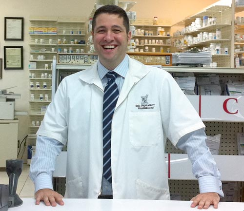 Your Pharmacist, Dr. Illan Suarez